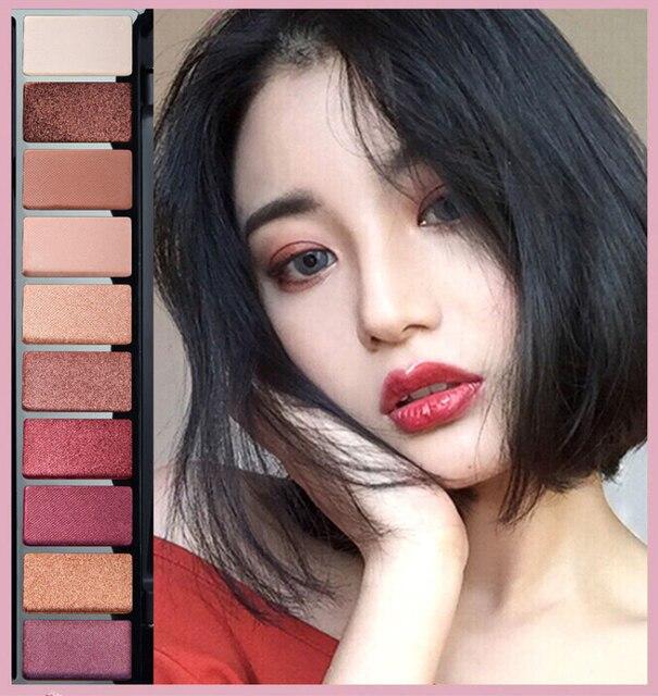 10 Colors Geometric Matte Eyeshadow Palette Glitter Mermaid Makeup Pallete Waterproof Long Lasting Eye Shadow Cosmetics TSLM1 2