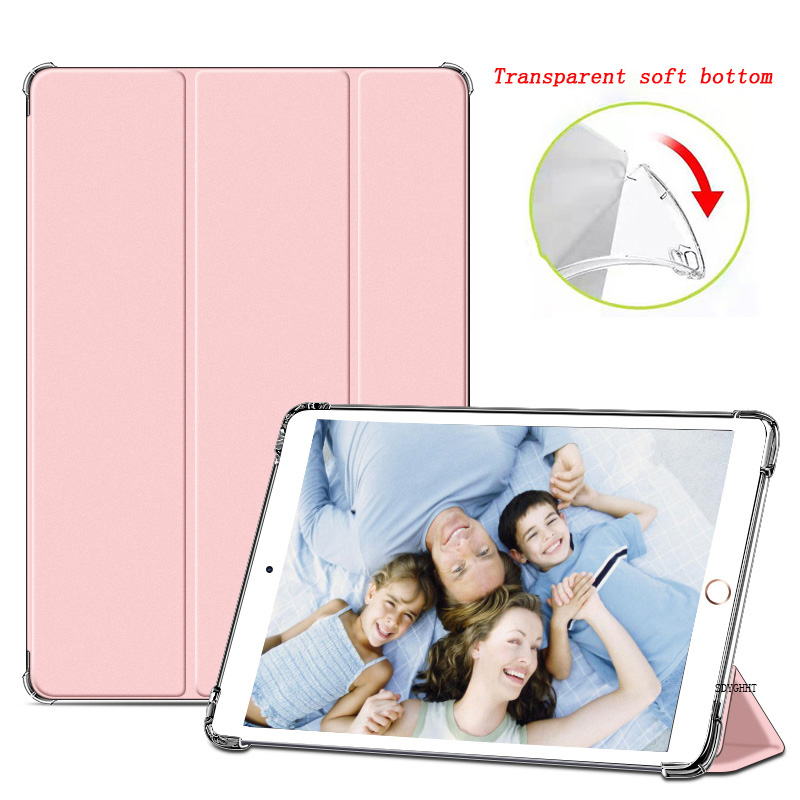 Pink Rose for iPad 2020 Air 4 10 9 inch Airbag Transparent matte soft protection Case For New