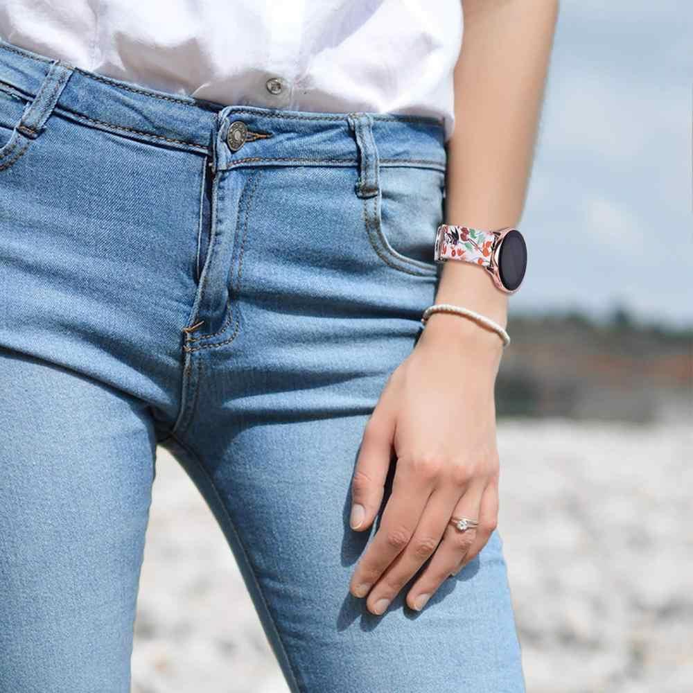 סיליקון שעון רצועת לסמסונג גלקסי פעיל גלקסי שעון 42 להקת 20mm להקת Amazfit ביפ נוער/ציוד ספורט/Garmin vivoactive 3