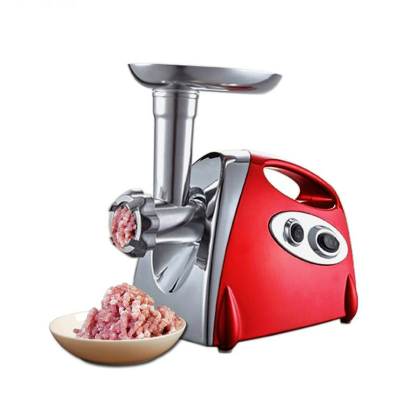 Multifunction Electric Meat Grinder Mincer Filler Sausage Filling Maker Machine Stuffer Vegetables Slicer Cutter 110V 220V