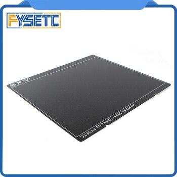 Prusa I3 MK3 MK52 черный двухсторонний текстурированный PEI пружинный стальной лист с порошковым покрытием PEI сборная пластина для Prusa i3 MK2.5S mk3 MK3S