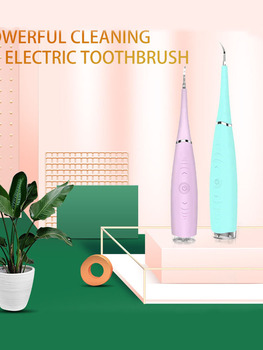 Oral Cleaner Ultrasonic Dental Scaler Tooth Whitening Tartar Plaque Stains USB Electric artar Whiten Teeth Remove donal skehan kitchen hero
