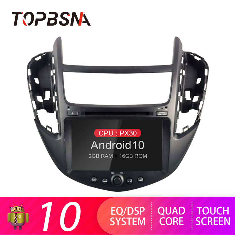 TOPBSNA 1din Android <font><b>10</b></font> Car DVD Player For Chevrolet Tracker/Holden Trax Chevrolet Trax 2013-2017 GPS Navi Car Radio Stereo Auto image