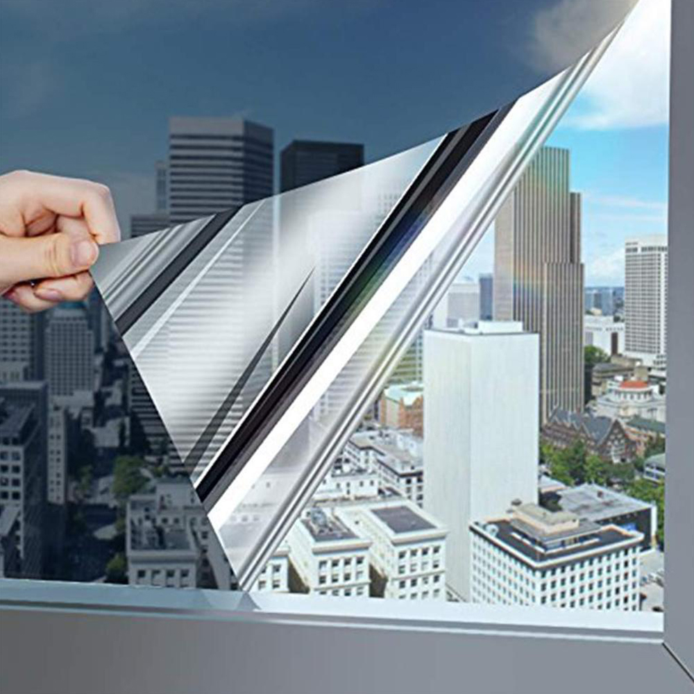 One-Way Vision Mirror Window Film