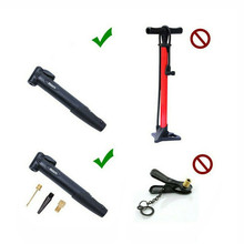 Bicycle Portable Ultra-compact Pump Retractable and Light Weight Mountain Bike Pump Is Easy To Carry US-French Inflatable Pump 12kn light weight portable hammock aluminum alloy carabiners and hooks weight supported to 1200kg