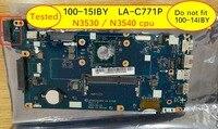 인텔 n3540 n3530 cpu가 장착 된 lenovo 100-15iby LA-C771P 노트북 마더 보드 용 aivp1aivp2 b50-10 메인 보드