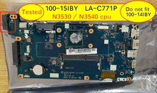 AIVP1AIVP2 LA C771P Mainboard For Lenovo 100 15IBY b50 10 Laptop Motherboard with intel N3540 N3530 cpu
