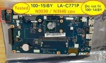 AIVP1AIVP2 carte mère LA C771P pour Lenovo 100 15IBY b50 10 carte mère dordinateur portable avec processeur intel N3540 N3530