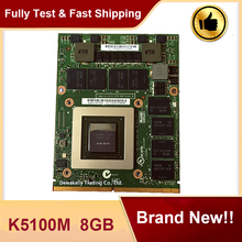 Brand New K5100M N15E-Q5-A2 Video Grafische Kaart Vga CN-034P9D Voor Dell M6700 M6800 Hp 8770W Zbook 17 G1 G2 werken Perfect