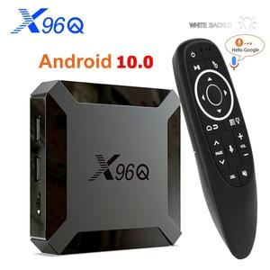 TV Box Android 10 X96Q Allwinner H313 Quad Core 4K 2.4G Wifi 1GB 8GB 2GB 16GB H.265 Media Player 3D Video TVBOX 2020 Set Top Box