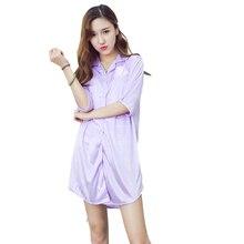 Женские ночные рубашки, платье для сна, атласная пижама, шелковая ночная рубашка, женское белье, сексуальная ночная сорочка размера плюс s m l xl, женская ночная рубашка