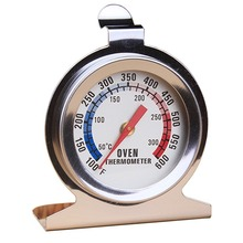 1 Piece Baking Thermometer Cake Oven Thermometer Stainless Steel Sitting 600 Degree Kitchen Cookware Baking Supplies 0 100 degree length 10 cm bimetallic thermometer wss 411 stainless steel disc industrial boiler thermometer radial