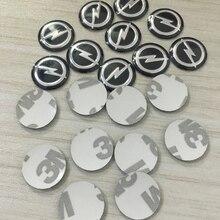 2 шт. 20 штук 14 мм дистанционный ключ эмблема, логотип, наклейка для Opel H G Corsa Insignia Astra Antara Meriva Zafira интерьера наклейка