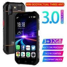 SOYES S10 Waterproof Mini Smartphone Walkie talkie NFC 3GB 3