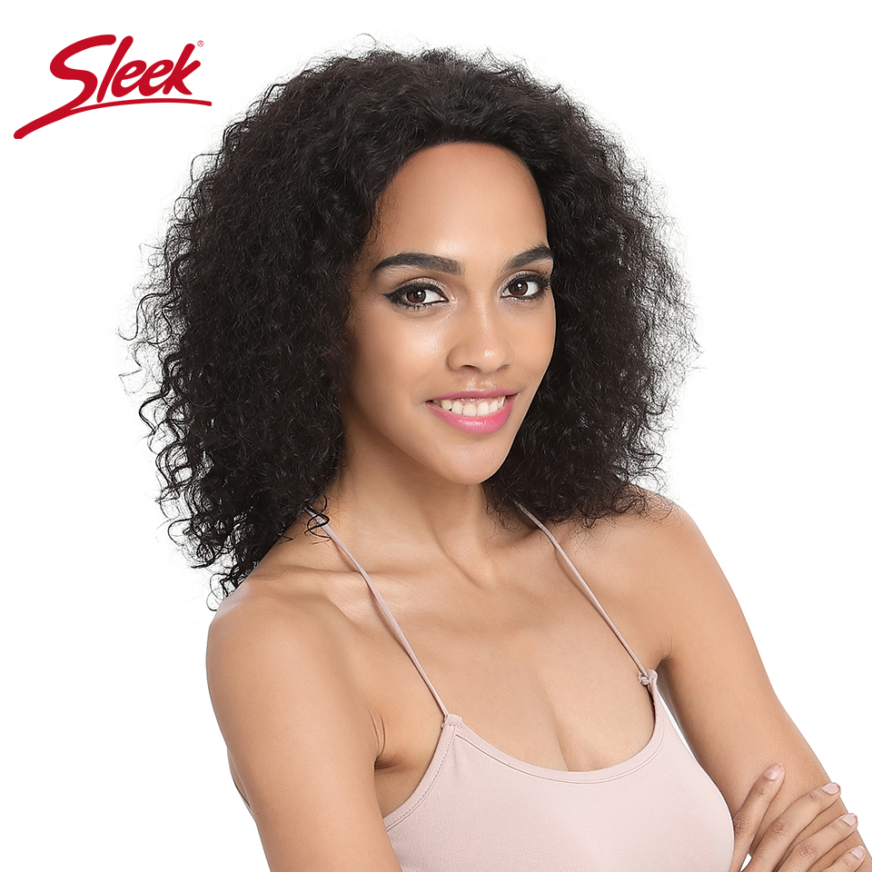 Sleek Curly Human Hair Wig Wet And Wavy 100% Remy Brazilian Hair Wigs 4X4 Lace Short Human Hair Wigs TT1B/30 Ombre Color Wigs