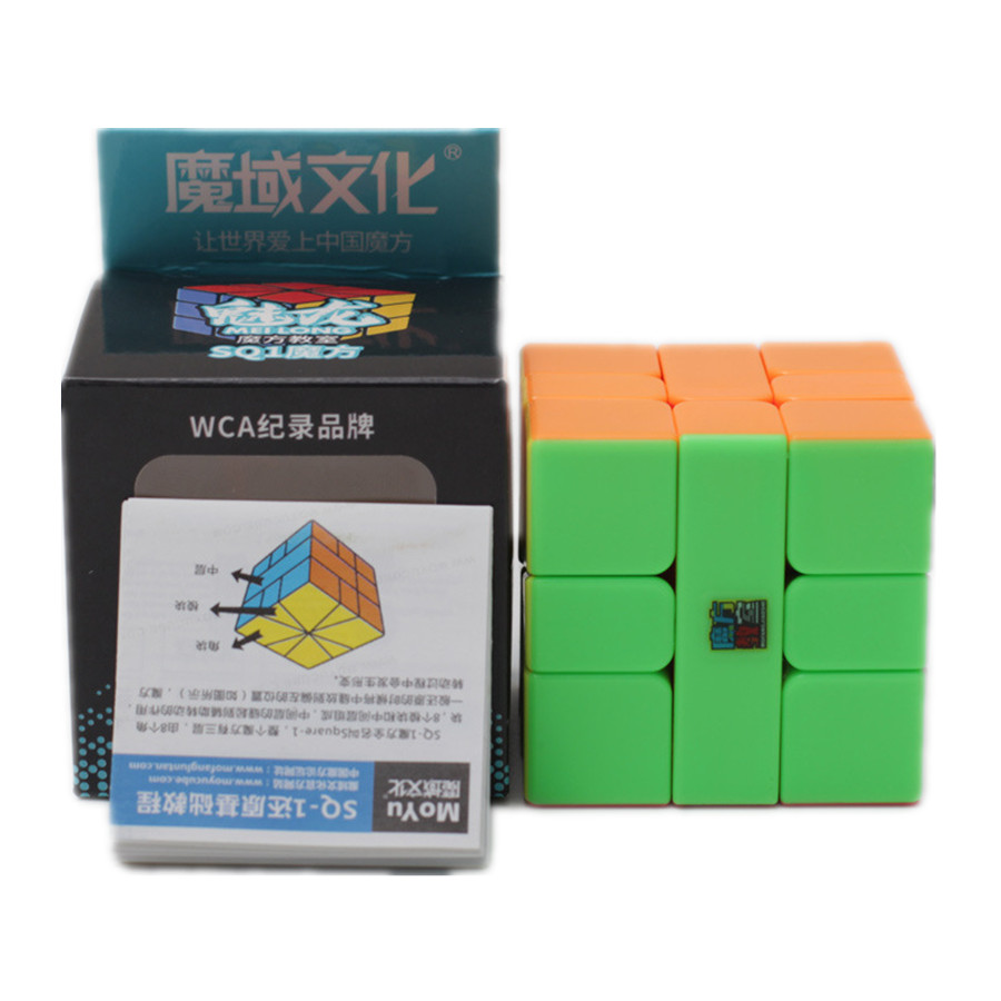 Mofangjiaoshi Meilong SQ-1 Cube Stickerless Magic Cube Moyu SQ1 3x3 Cubo Magico Puzzle Competition Cubes Toys Children Gift