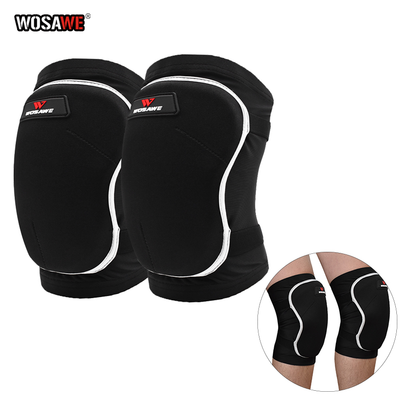 WOSAWE Thicken Protective Kneepads Motorcycle Knee Pad Protector Sports Scooter Motor-Racing Guards Safety Gears Race Brace