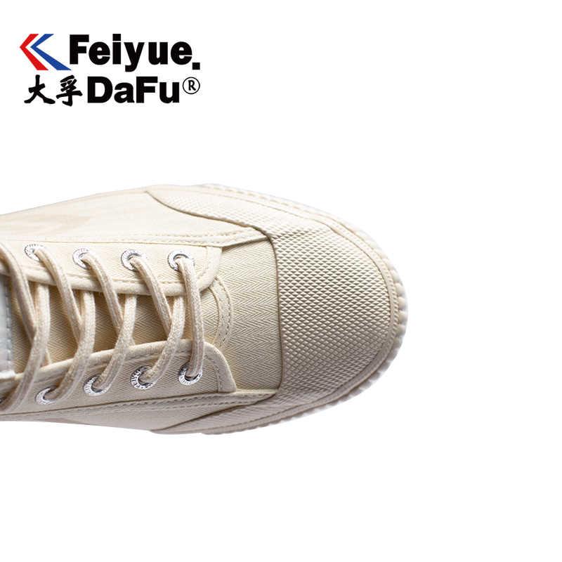 DafuFeiyue kanvas ayakkabılar Vintage vulkanize erkek ve kadın moda yeni spor ayakkabı rahat kaymaz eğilim bej ayakkabı 795