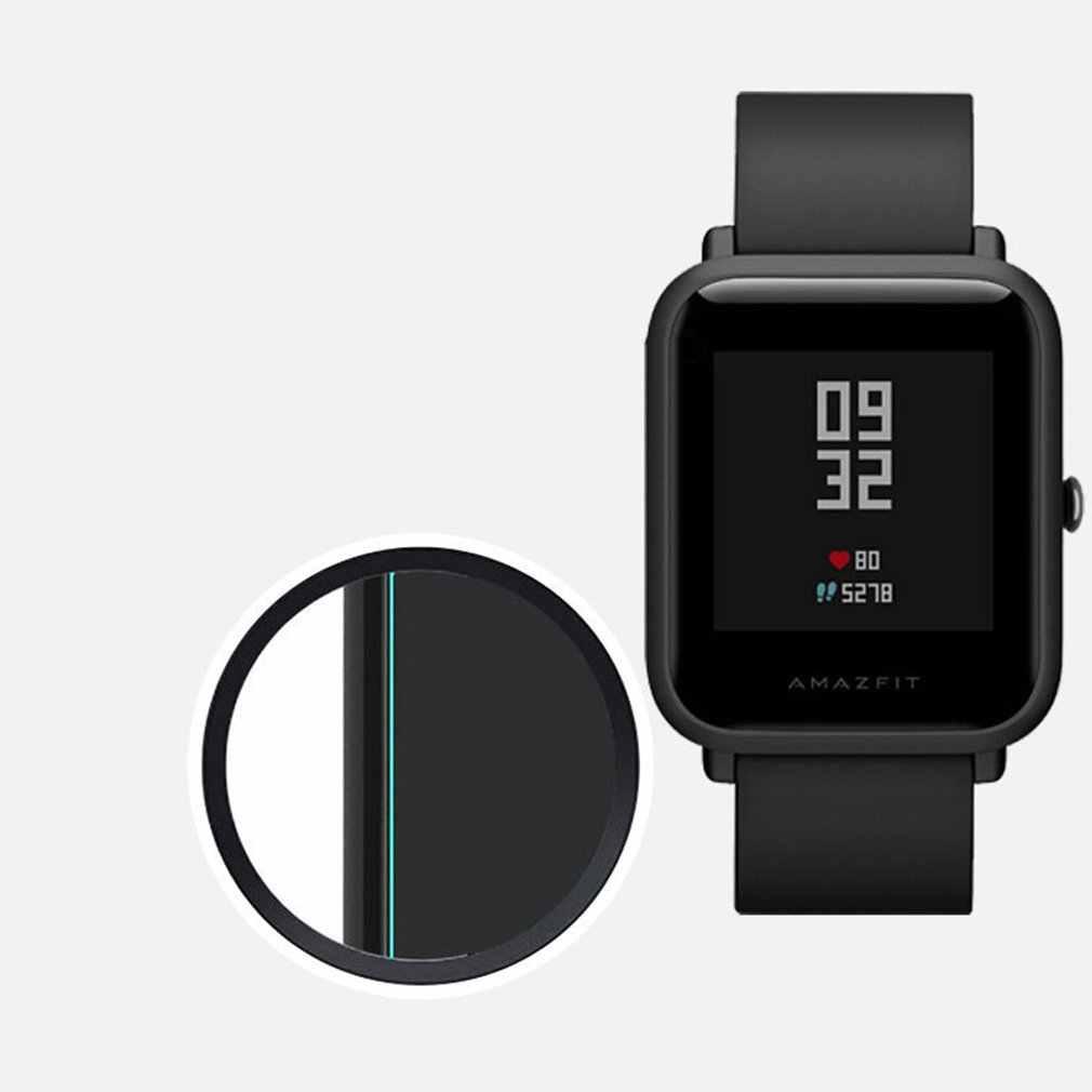 ساعة ذكية واقي للشاشة لينة TPU واضح ساعة ذكية واقي للشاشة فيلم ل Xiaomi Huami Amazfit بيب تيرة لايت