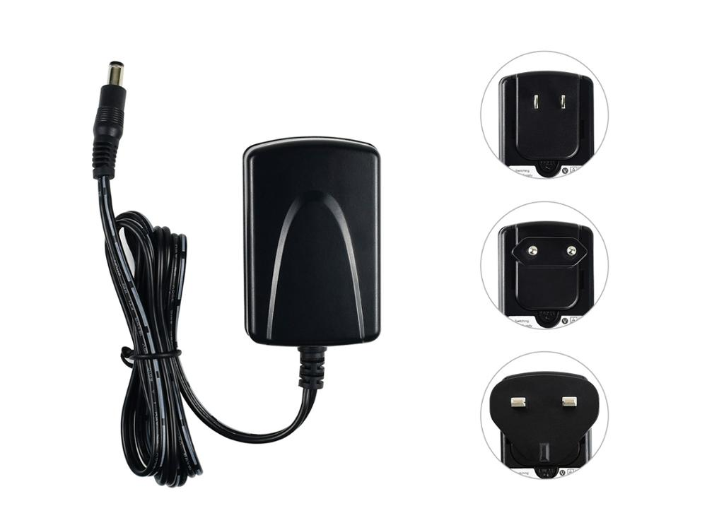 Waveshare US Plug Power Supply, 5V/4A, OD 5.5mm, ID 2.1mm Connector, Applicable For Jetson Nano