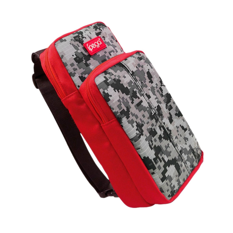 Ipega Pg-9183 Camouflage Crossbody Storage Bag Travel Carrying Bag Protective Cover For Nintendo Switch