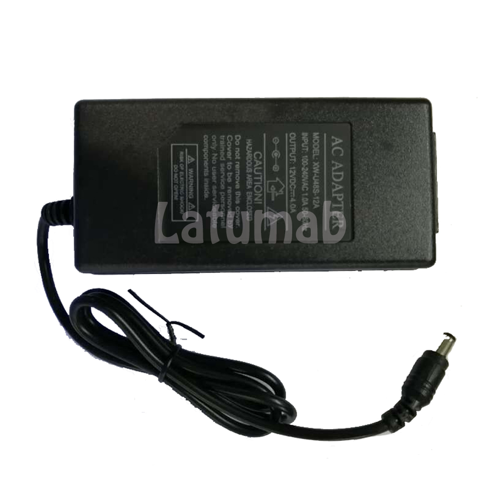 Image 2 - 12V 4A AC DC Adapter for LCD Charger Power Cord Supply Cord Cable Mains PSU 100 240vAC/DC Adapters   - AliExpress