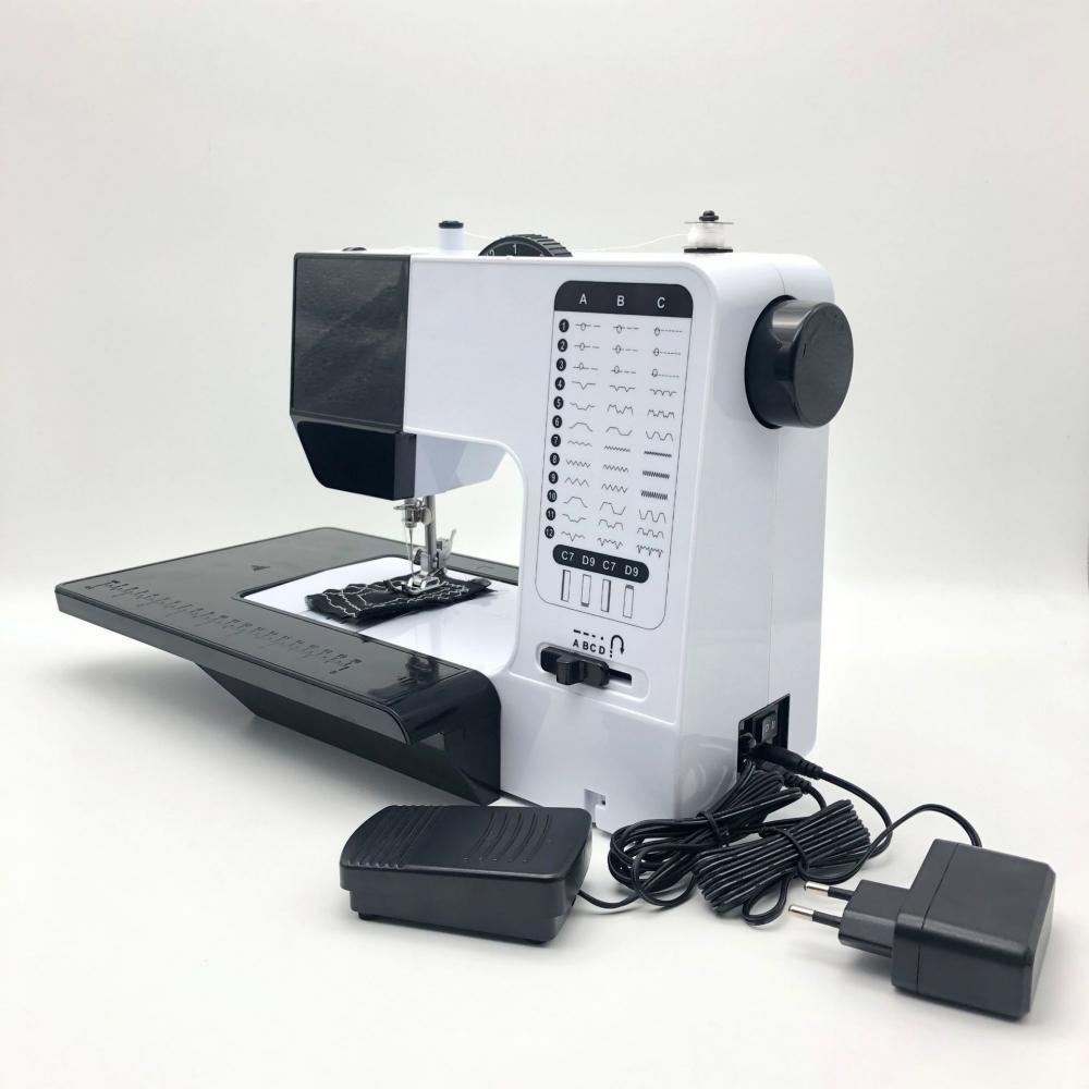 Máquina de costura portátil handheld mini máquina