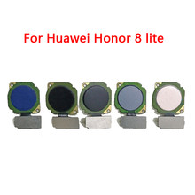 For Huawei Honor 8 Lite PRA-AL00 PRA-AL00X PRA-TL10 Touch Sensor ID Home Button Return Assembly Flex Cable Fingerprint Scanner