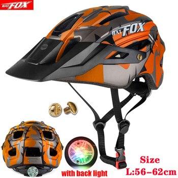 2020 nova batfox capacete de bicicleta para adultos das mulheres dos homens mtb mountain road ciclismo segurança esportes ao ar livre safty capacete 1