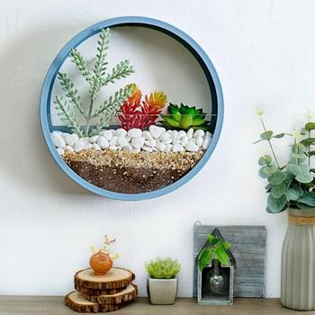 Home Art Wall Decor Modern Flower Pot