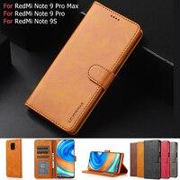 Leder Brieftasche Fall für Xiaomi Mi Poco F3 M3 X3 NFC 10T Lite Flip Abdeckung für Redmi K40 Hinweis 10 9 Pro 10S 9S 8T 9 Power 9T 9A A2