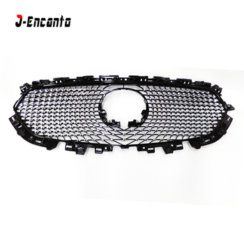 High quality front racing grille mesh running board mask cover grills / ABS Honeycomb lacquer grill For MAZDA CX-5 CX5 2017-18 image
