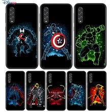 Schwarz Weiche Marvel Superhero Für Samsung Galaxy A90 A80 A70 A70S A60 A50 A40 A30 A30S A20S A20E A10 A10E telefon Fall