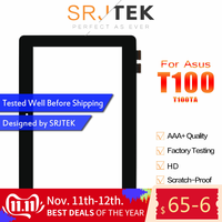 "SRJTEK 10.1"" For ASUS Transformer Book T100 T100TA Touch Screen Digitizer SensorTbalet PC Parts FP-TPAY10104A-02X-H JA-DA5490NB"