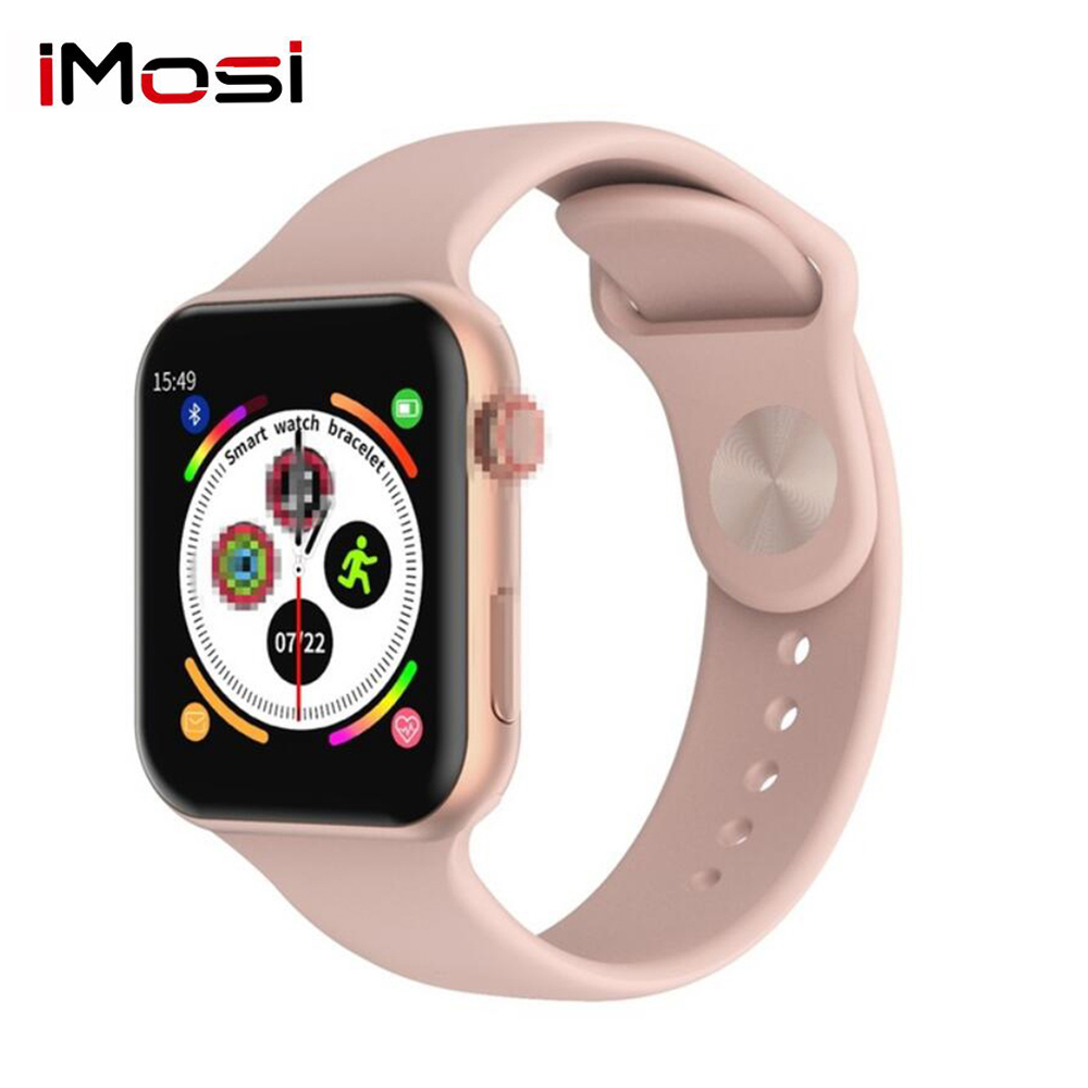 F10 Smart Watch Full Touch Screen Heart Rate Blood Pressure Sports Tracker Fitness For Apple IOS Android PK Iwo 8 9 10  W34