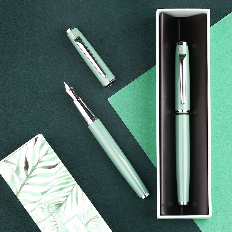 Fountain Pen MOONMAN Colorful EF/F  Nib Fountain Pens Steel Nibs Student Office Practice Supplies Stationery Writing Pens Gifts
