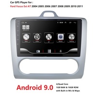 1G+16G Android 9.0 For ford focus 2 Mk2 2004 2011 Car Radio Multimedia Video Player Navigation GPS 2 din dvd