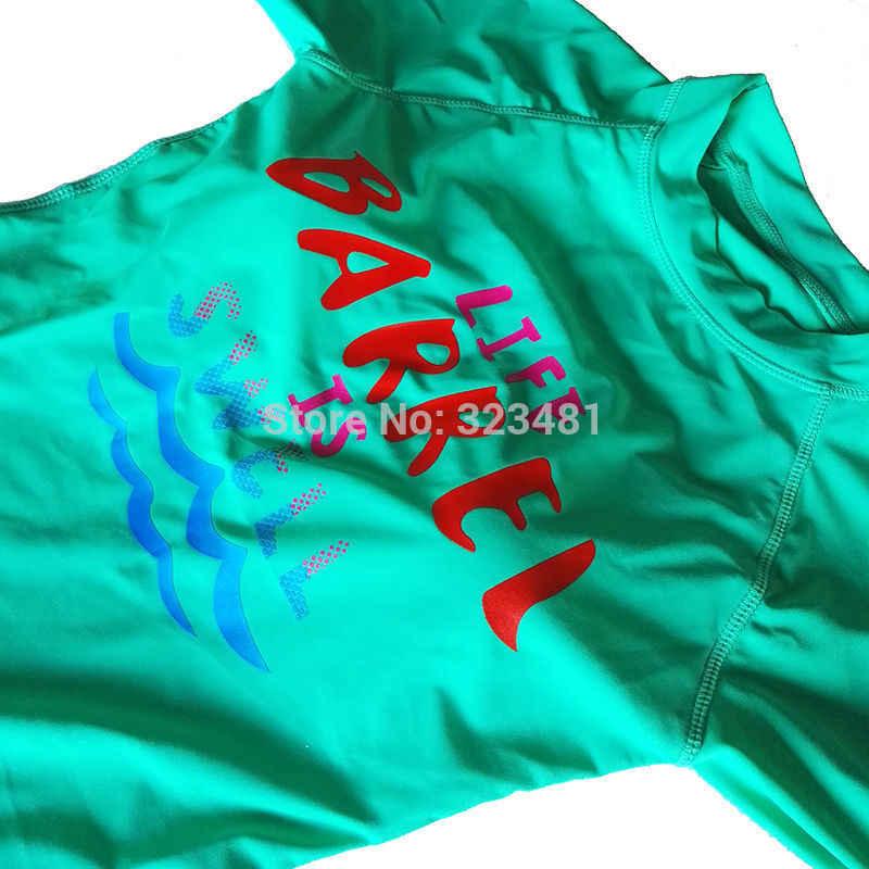 Hàn Quốc Vintage Đồ Bơi Nữ Váy Đi Biển Lướt Bơi Bộ Đồ Lặn Rush Cận Vệ 2 Bộ Đồ Bơi Dài Tay Áo Gợi Cảm Phát Ban Bảo Vệ
