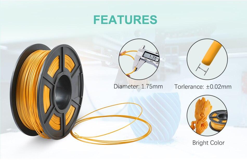 SUNLU PLA+/PLA 3D Printer Fliament 2