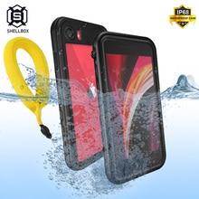 Shellbox Ốp Lưng Chống Nước Dành Cho iPhone SE 2020 Ốp Lưng Chống Sốc Cho iPhone 11 Pro Max XR XS Max Bơi Dành Cho iPhone 7 8 Plus