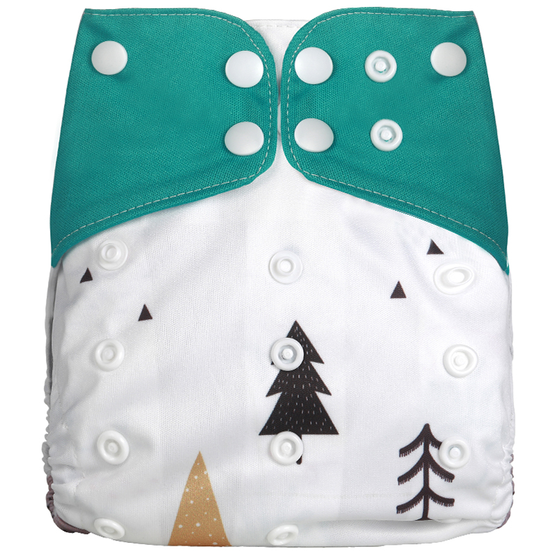 [Simfamily] 1 шт. многоразовые тканевые подгузники, регулируемые детские подгузники, моющиеся подгузники, подходят для 3-15 кг детские подгузники - Цвет: NO5