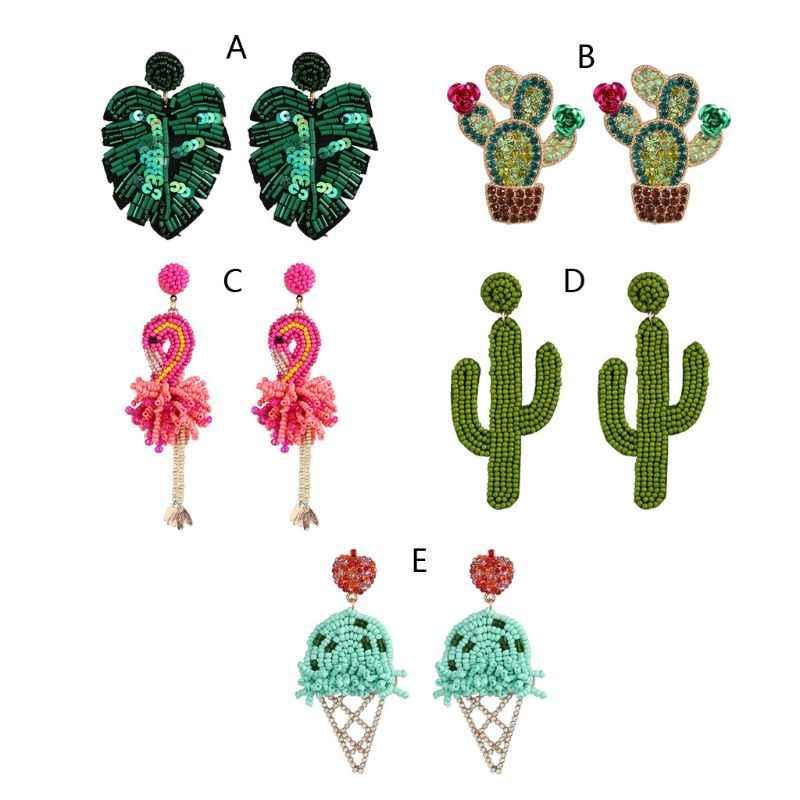 Boho Cactus Earrings