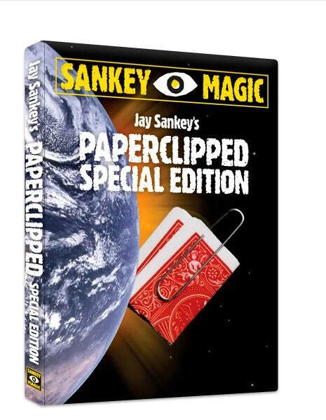 Jay Sankey - Paperclipped Special Edition  Magic Tricks  Online Instruction