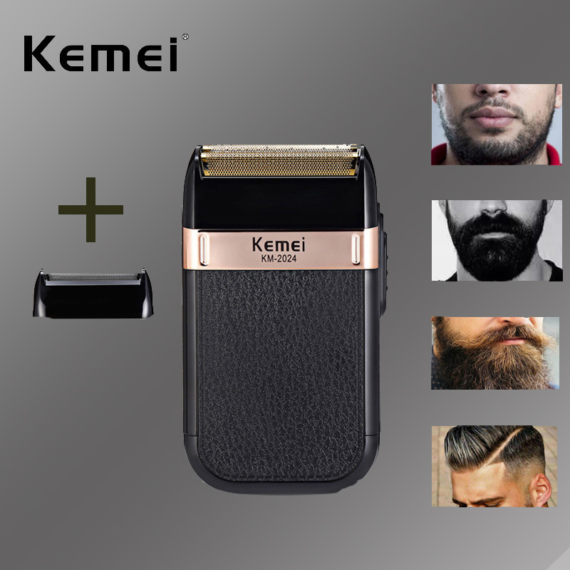 Kemei Shaver Professional Hair Trimmer Multi-function Razor Electric Hair Clipper Wireless Electric Beard Rechargeable Trimmer 5