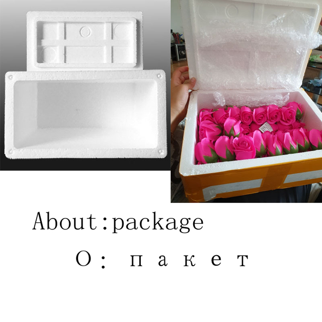 50Pcs Bath Soap Rose Flower Floral Scented Soap Rose Petals Body Soap in Gift Box for Valentine's Day Anniversary Mother's Day 5