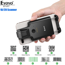 Barcode Reader Qr-Scanner Data-Matrix Phone-Back-Clip Android-Ios Eyoyo 1D 2D
