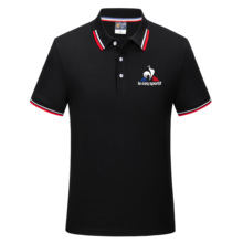 2021 summer new solid color high quality men's polo shirt casual social business fashion short-sleeved lapel breathable casual P