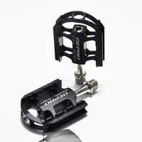 Dernières CNC en alliage d'aluminium VTT BMX vtt pédales vélo de route DU roulement scellé pédales de vélo pièces de pédale de vélo ultra-légères
