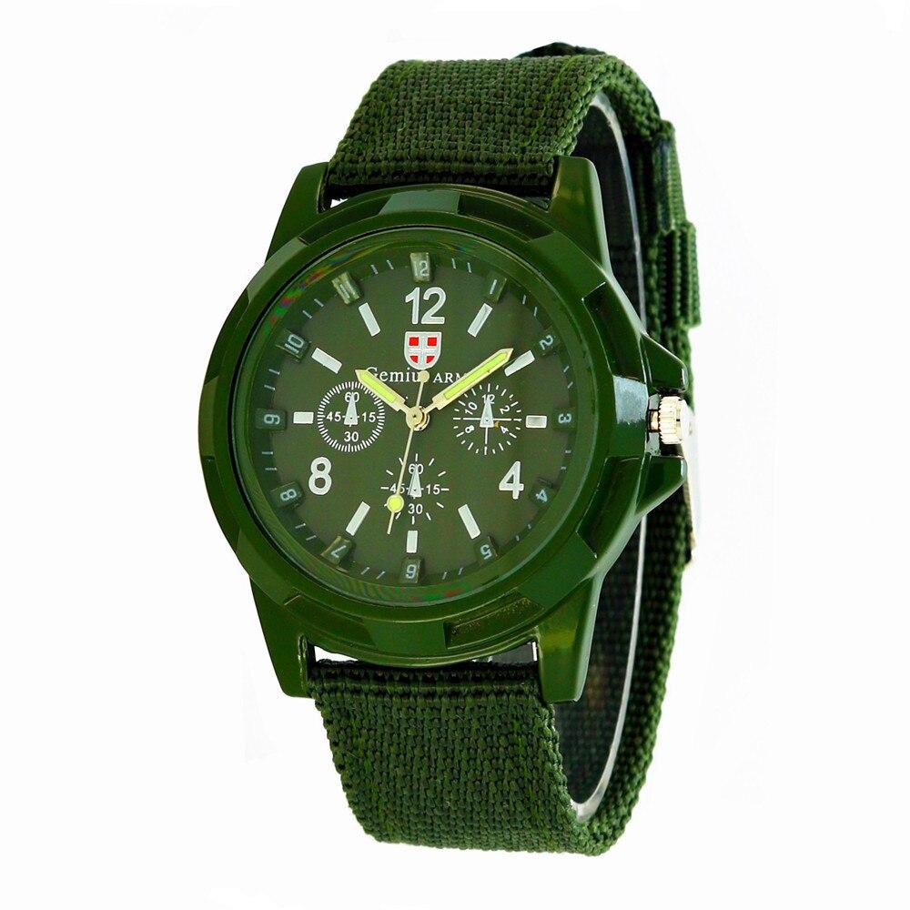 От 9 до 18 лет спортивные детские часы армейский зеленый темно-синий военный стиль студенческие наручные часы спортивные мужские кварцевые