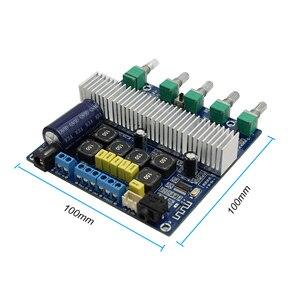 Image 5 - TPA3116D2 bluetooth 4.2サブウーファーオーディオアンプボード2.1チャンネルハイパワー2*50ワット + 100ワットTPA3116 amplificador DC12V 24V E1 009